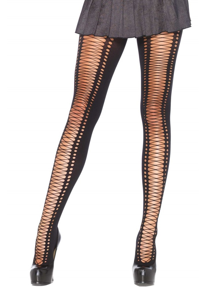 lace up tights attitude clothing. Black Bedroom Furniture Sets. Home Design Ideas