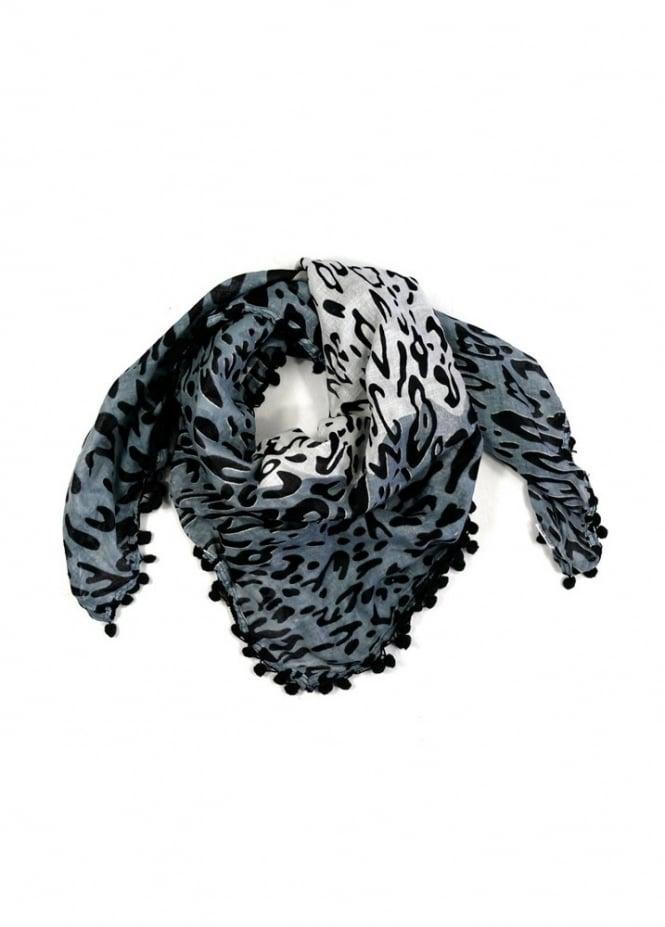 Leopard Bobble Scarf