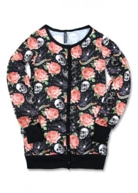 Rose Tattoo Cardigan
