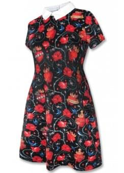 Sacred Hearts Collar Dress