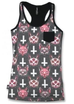 Satanic Cats Pocket Tank