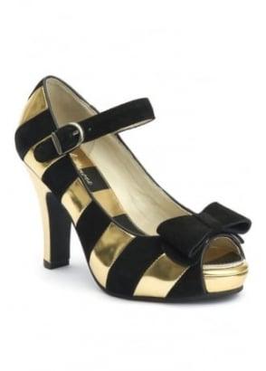 Angie Peep Toe Heel