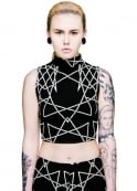 Long Clothing Infinity Crop Top