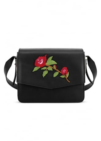 LYDC London Rose Embroidered Handbag