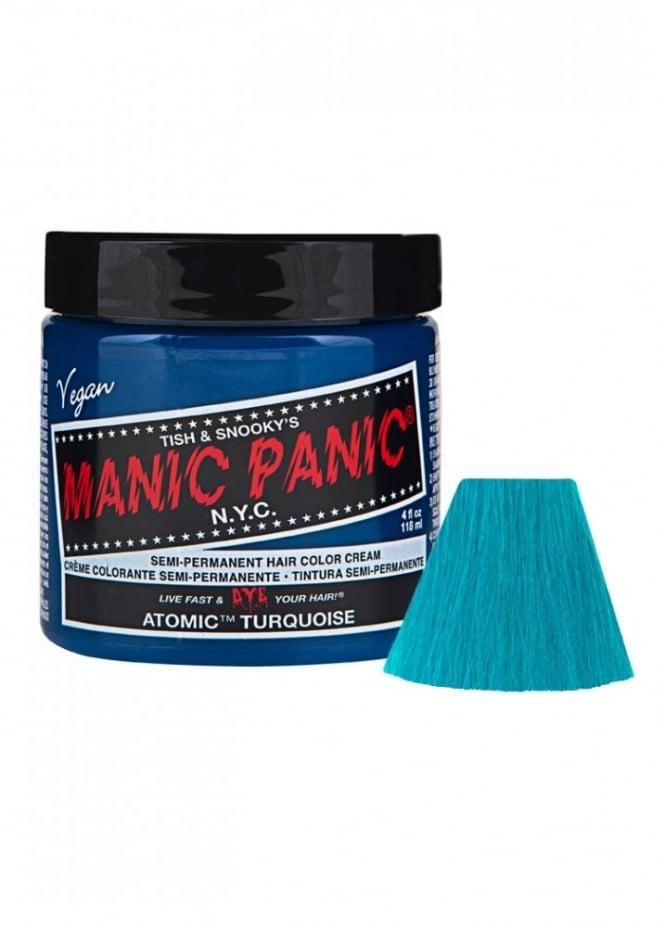 Manic Panic Atomic Turquoise Semi-Permanent Hair Dye
