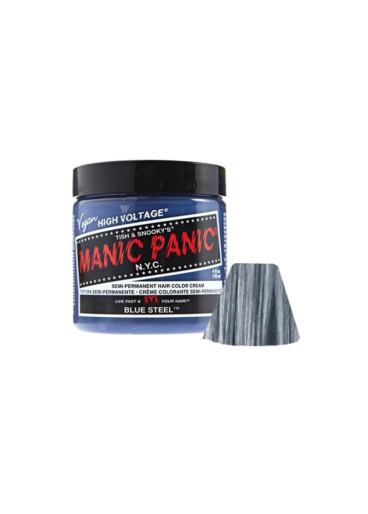 Manic Panic Blue Steel Semi Permanent Hair Dye Attitude