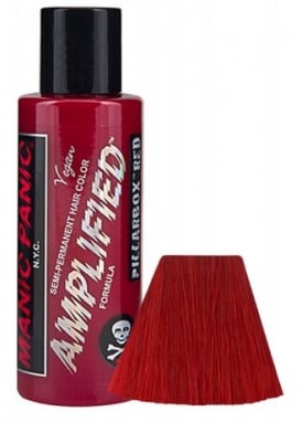 Pillar-Box Red Amplified Hair Dye