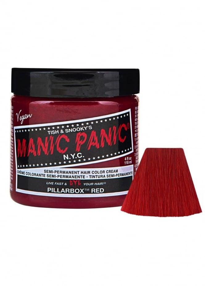 Manic Panic Pillar-Box Red Semi-Permanent Hair Dye