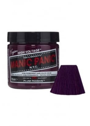 Plum Passion Semi-Permanent Hair Dye