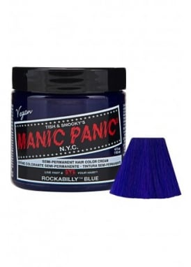 Rockabilly Blue Semi-Permanent Hair Dye