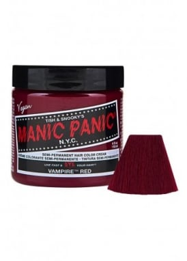 Vampire Red Semi-Permanent Hair Dye