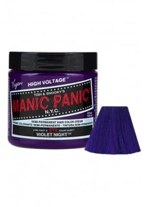 Violet Night Semi-Permanent Hair Dye