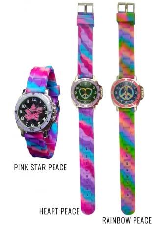 Mood Changing Tie Dye Watch