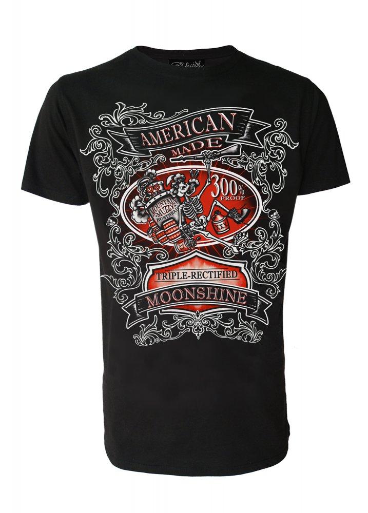 Darkside Clothing Moonshine T Shirt Attitude Clothing