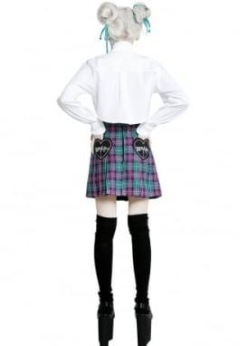 Tell-Tales Pleated Skirt