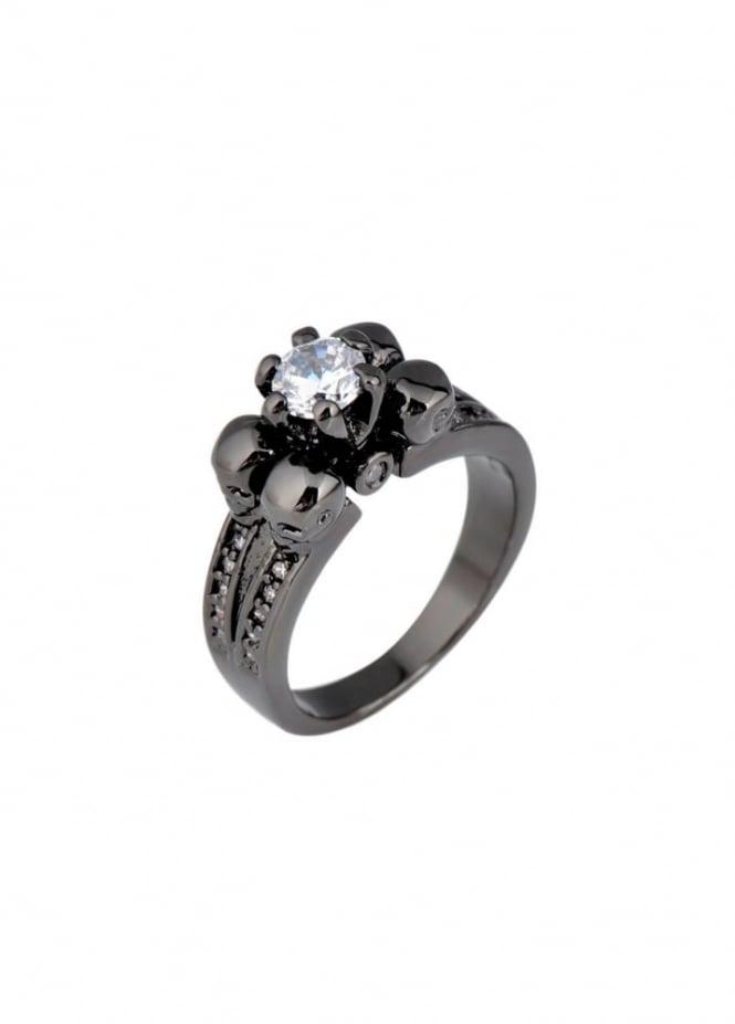 Mysticum Luna Black/Clear Underworld Ring