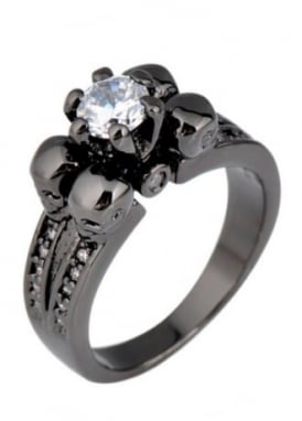 Black/Clear Underworld Ring