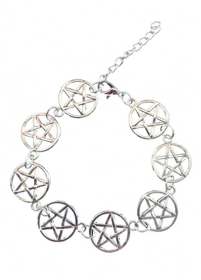 Mysticum Luna Pentagram Bracelet