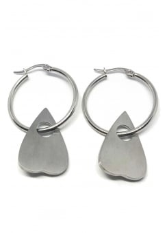 Planchette Gothic Hoops