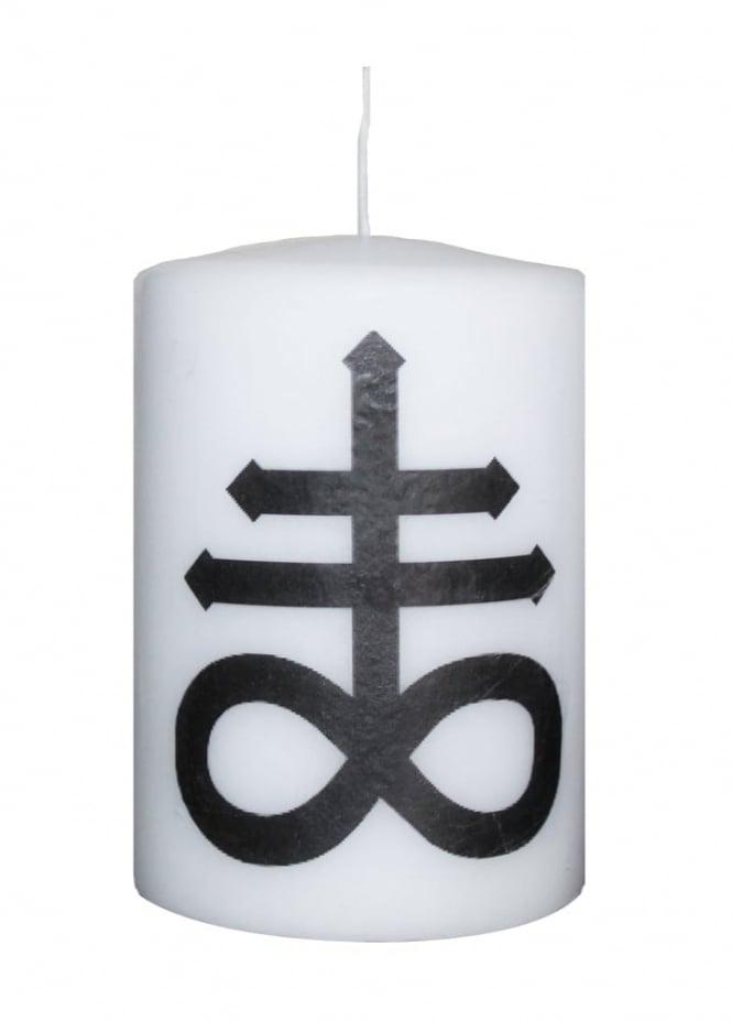 Mysticum Luna Small Leviathan Cross Altar Candle