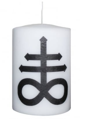 Small Leviathan Cross Altar Candle