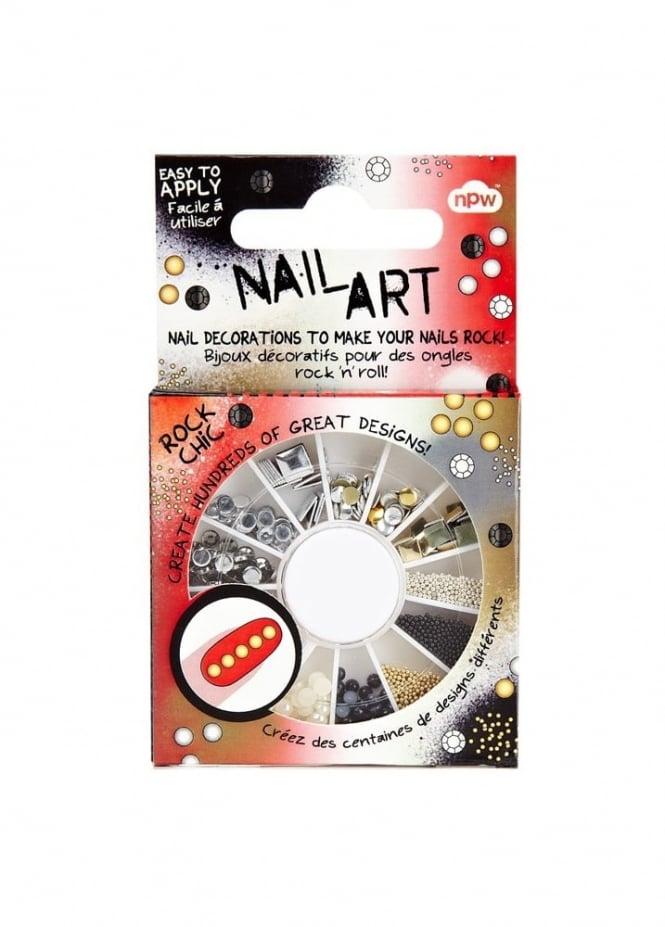 Nail Art Rock Chic Stud Wheel
