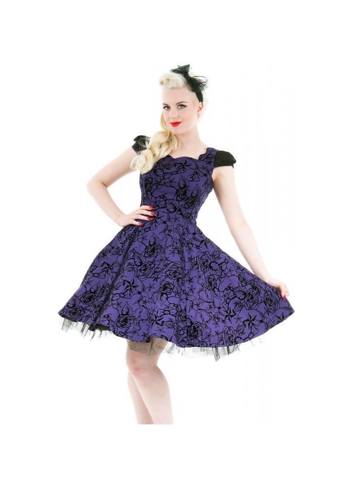 Art Décor: H&R Nautical Flocked Dress