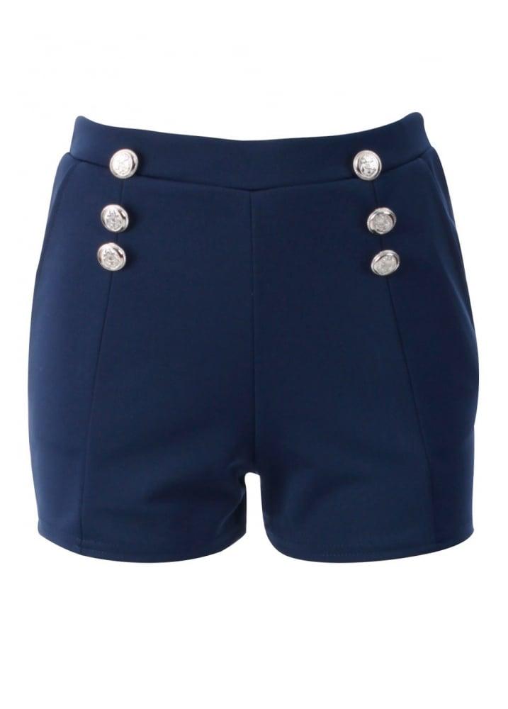Art Décor: Navy Nautical Shorts