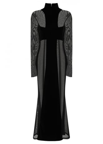 Necessary Evil Aphrodite Cross Gothic Dress