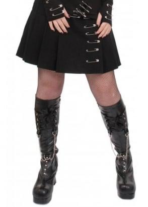 Safety Pin Mini Skirt