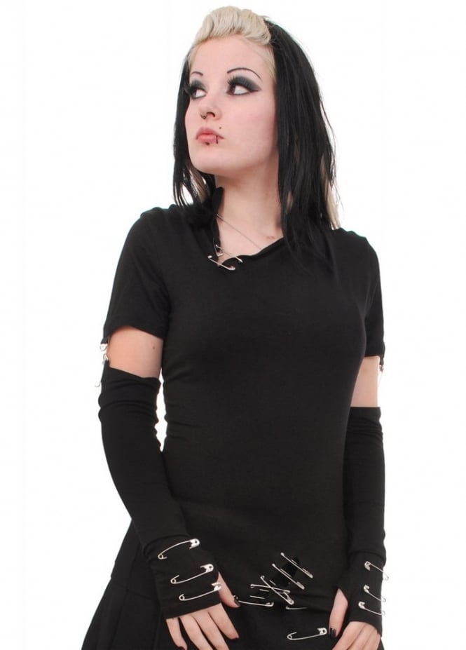 Necessary Evil Safety Pin Top