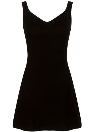 Necessary Evil Venus Velvet Mini Dress