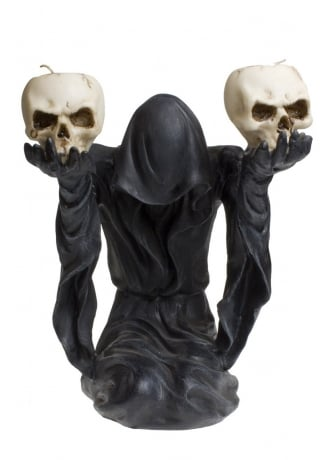 Nemesis Now Bow to Darkness Candle Holder
