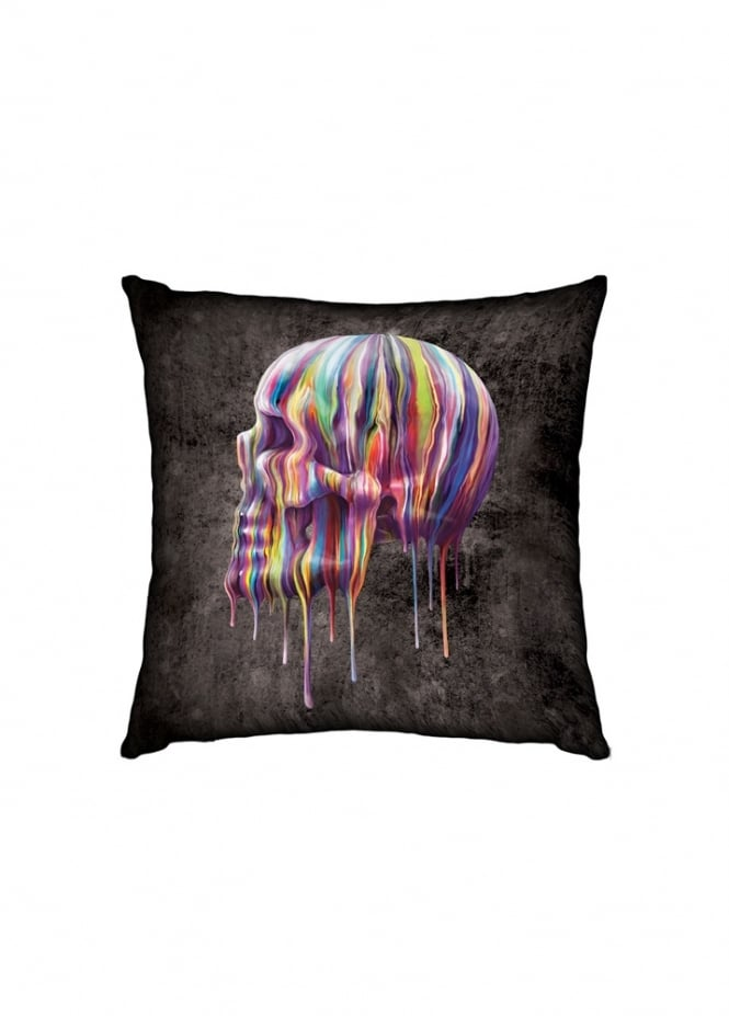 Nemesis Now Dripping Skull Cushion