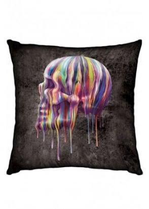 Dripping Skull Cushion