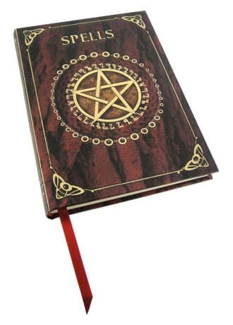 Nemesis Now Embossed Spell Book