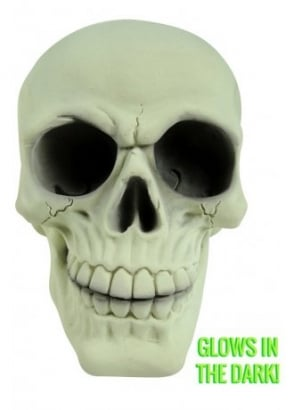Large Glowing Skull