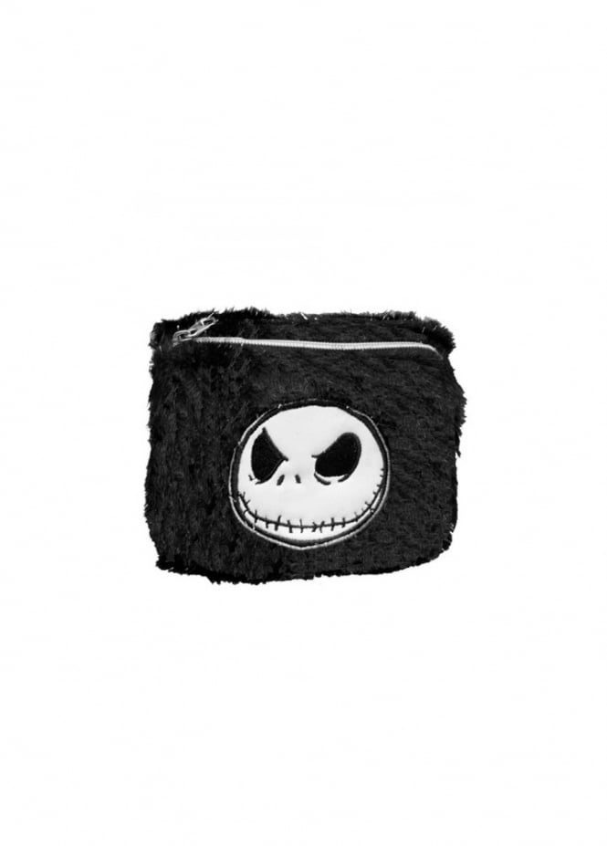 Nightmare Before Christmas Faux Fur Wallet