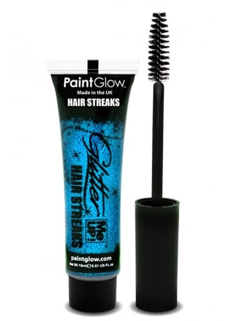 PaintGlow Blue Glitter Me Up Hair Streaks