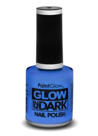 PaintGlow Blue Glow In The Dark Nail Polish