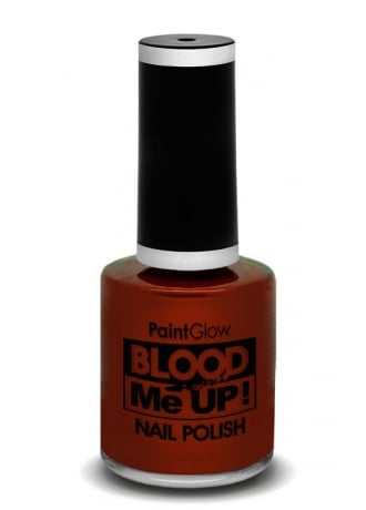 PaintGlow Dark Red Blood Me Up Nail Polish