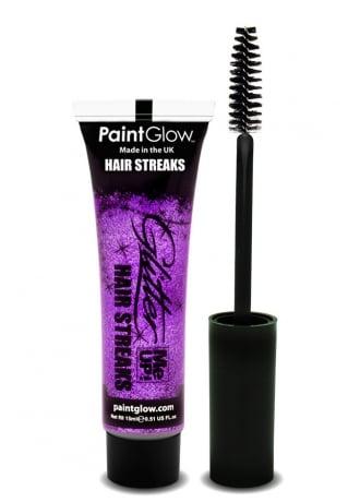 PaintGlow Fuchsia Glitter Me Up Hair Streaks