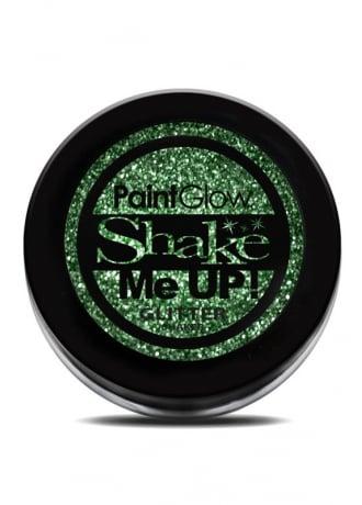 PaintGlow Green Glitter Shaker