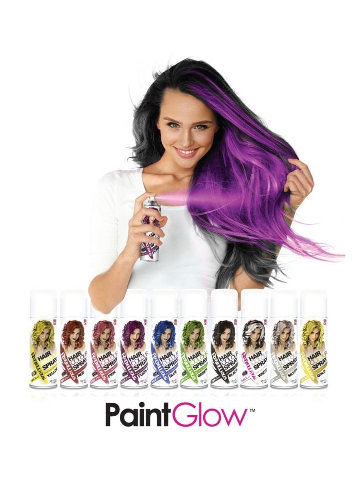 PaintGlow Rebellious Hair Colour Spray   Attitude Clothing