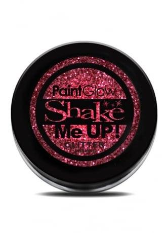PaintGlow Red Glitter Shaker
