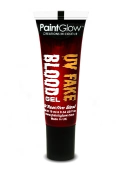 UV Orange Fake Blood Gel