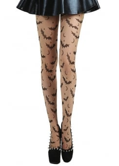 Bat, Star & Moon Tights