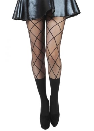 Pamela Mann Cross Sheer Tock Tights