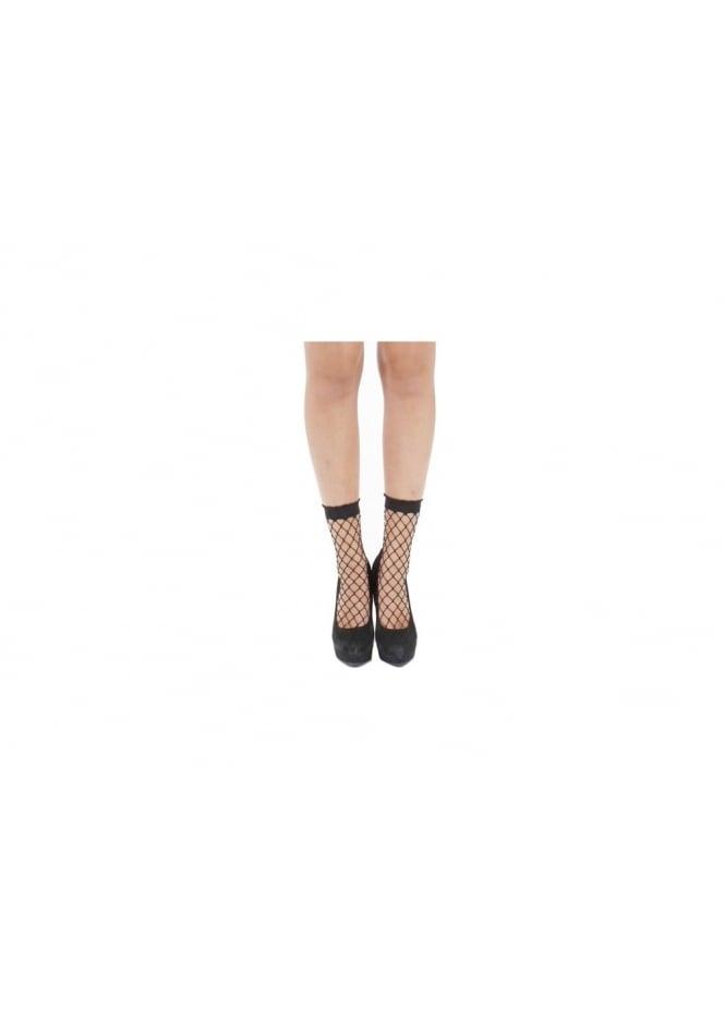Pamela Mann Large Net Ankle Socks