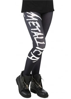 Metallica Scary Logo Leggings